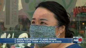 Prank Orders Financially Hurt Asian Restaurant