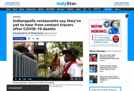 Indianapolis restaurants say they've yet to hear from contact tracers after COVID-19 deaths