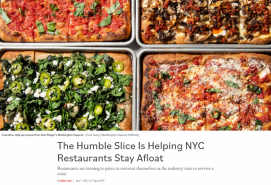 The Humble Slice Is Helping NYC Restaurants Stay Afloat