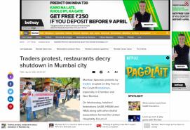Traders protest, restaurants decry shutdown in Mumbai city