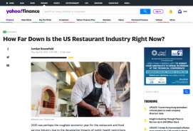 How Far Down Is the US Restaurant Industry Right Now?