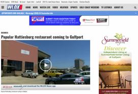 Popular Hattiesburg restaurant coming to Gulfport