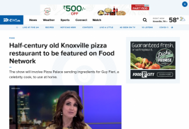 Half-century old Knoxville pizza restaurant to be featured on Food Network
