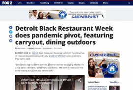 Detroit Black Restaurant Week does pandemic pivot, featuring carryout, dining outdoors