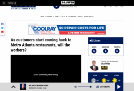 As customers start coming back to Metro Atlanta restaurants, will the workers?