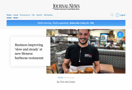 Business improving 'slow and steady' at new Monroe barbecue restaurant