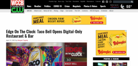 Edge On The Clock: Taco Bell Opens Digital-Only Restaurant & Bar WCCB Charlotte's CW