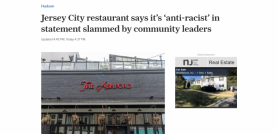 Jersey City restaurant says it's 'anti-racist' in statement slammed by community leaders