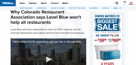 Why Colorado Restaurant Association says Level Blue won't help all restaurants