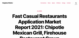 Fast Casual Restaurants Application Market Report 2021: Chipotle Mexican Grill, Firehouse Restaurant Group (Firehouse Subs), Five Guys Holdings, Panda Restaurant Group (Panda Express), Panera Bread etc.