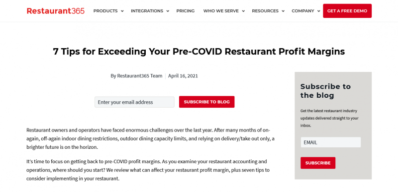 7 Tips for Exceeding Your Pre-COVID Restaurant Profit Margin
