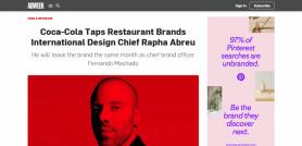 Coca-Cola Taps TBI Design Chief Rapha Abreu