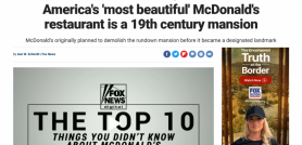 America's 'most beautiful' McDonald's restaurant is a 19th century mansion