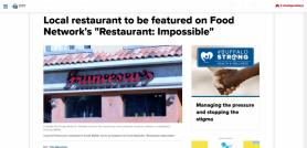Local restaurant to be featured on Food Network's