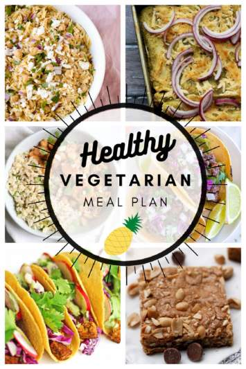 Healthy Vegetarian Meal Plan 4.24.21 | Joanne Eats Well With Others