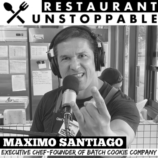 795: Max Santiago Executive Chef/Founder of Batch Cookie Company