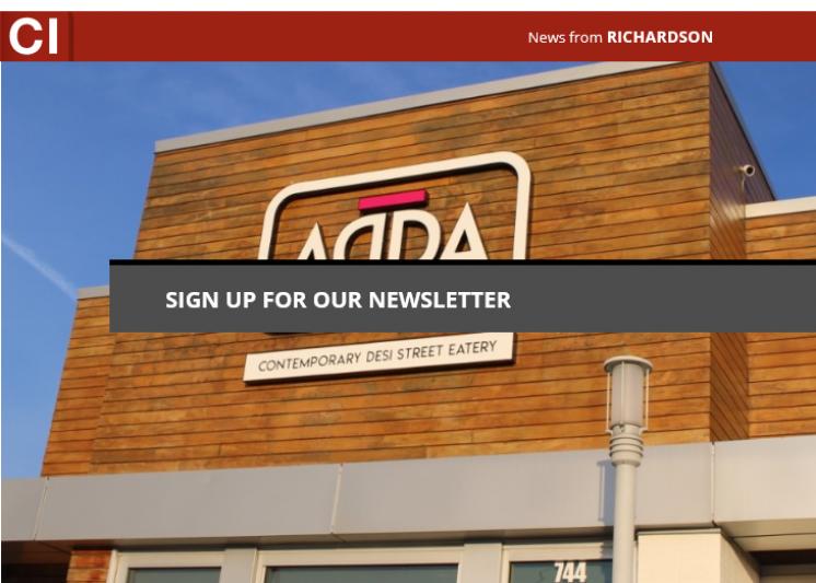 Street food restaurant Adda now open in Richardson