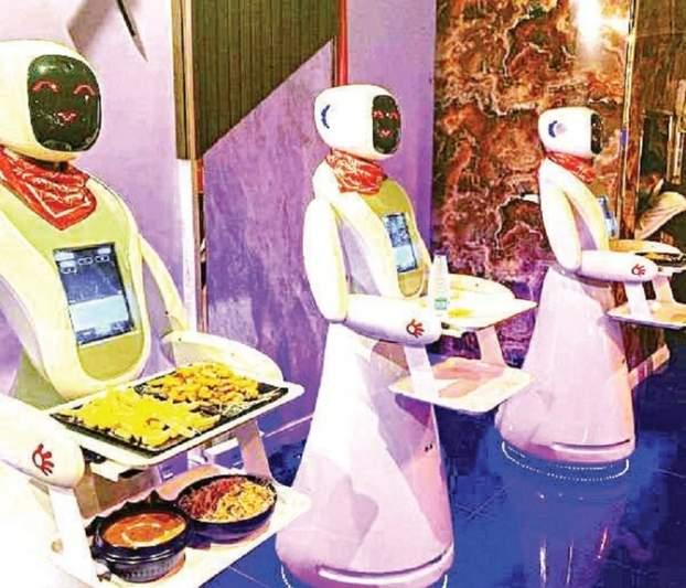 Chips with everything: Saudi restaurant where waiters are robots