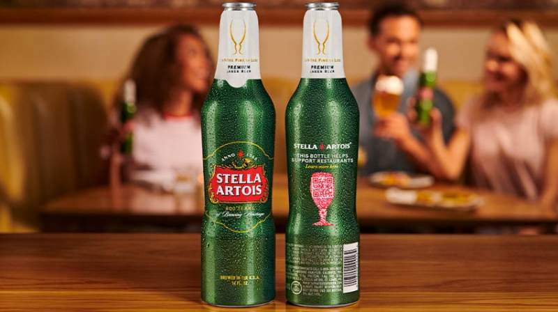 "Stella Artois Rallies Behind Restaurant Recovery With ""Open For Good"" Bottle"