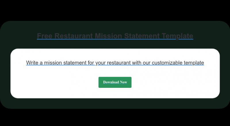 How to Write a Restaurant Mission Statement (Tips and Examples)