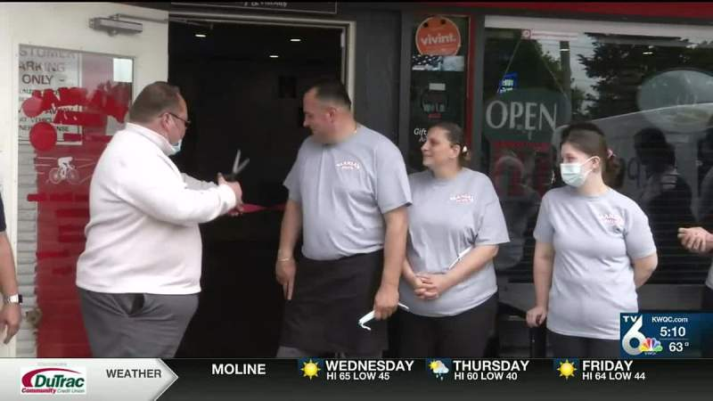 Colona pizza restaurant reopens after multiple delays