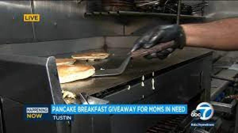 Mother's Day: Good Samaritan, Tustin restaurant help give 1,300 pancake breakfasts to moms in need