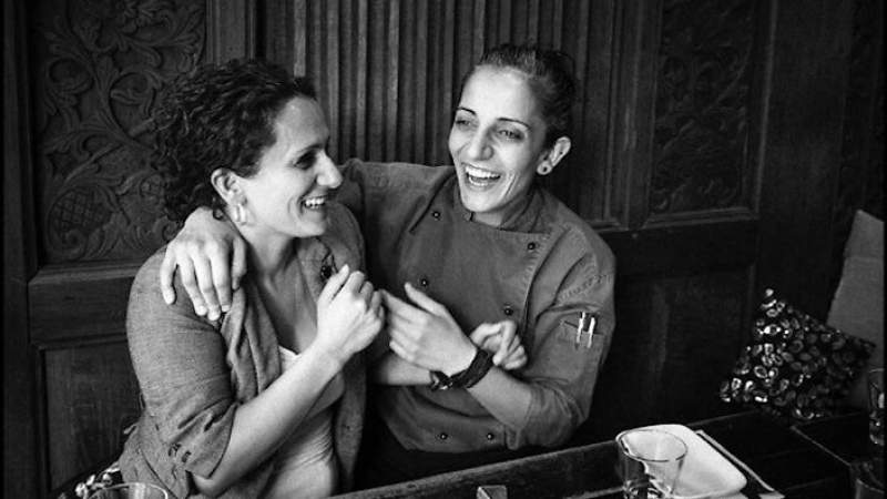 How dinner at home shaped the success of the Salloum sisters' Almond Bar