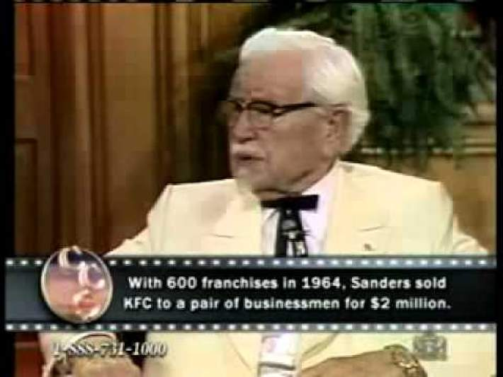 1979 Col Sanders Interview all Founder of KFC