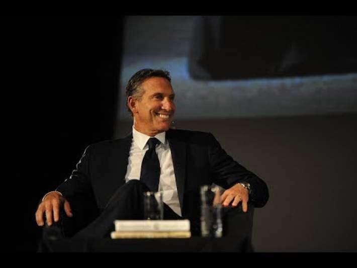 Howard Schultz Starbucks CEO Talks Business