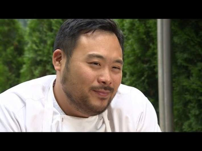 David Chang talks about fame food and his famous temper