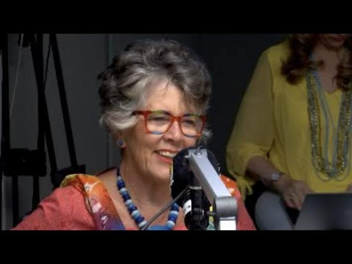 Great British Bake Off judge and restaurateur Prue Leith joins Refilwe live in studio