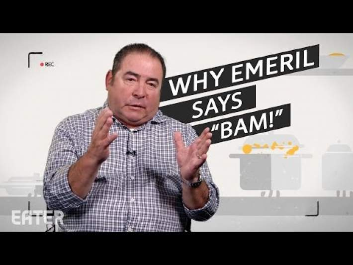Why Emeril Lagasse Always Says  BAM!