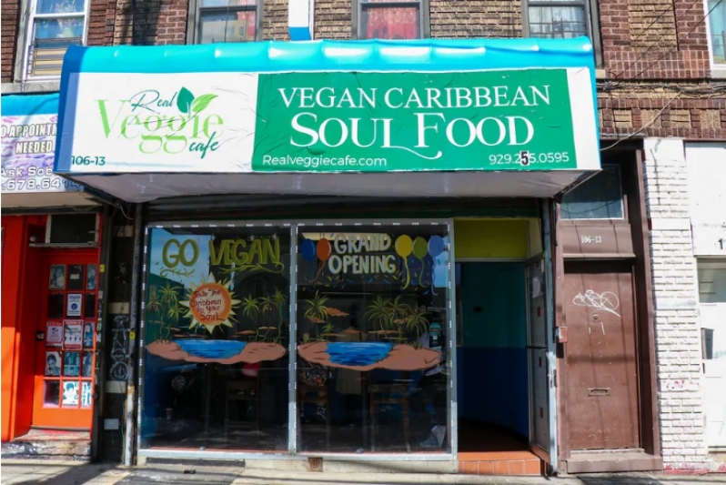 Real Veggie Cafe Brings Vegan Caribbean Soul Food to Jamaica, Queens