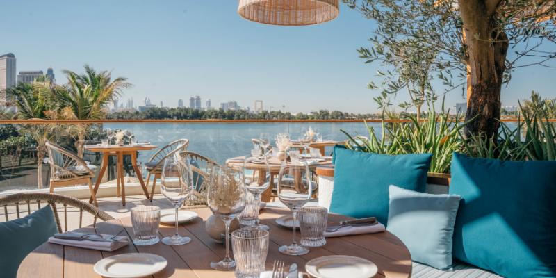 This Dubai beach club & restaurant transports you straight to the Mediterranean