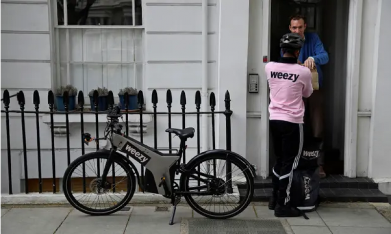 Fast food: the new wave of delivery services bringing groceries in minutes
