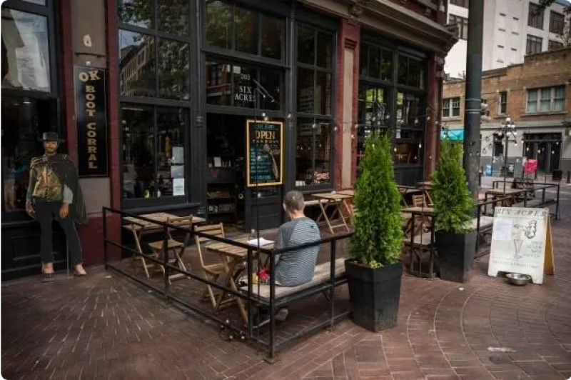 Vancouver waives permit fees for restaurant patios just in time for warmer weather