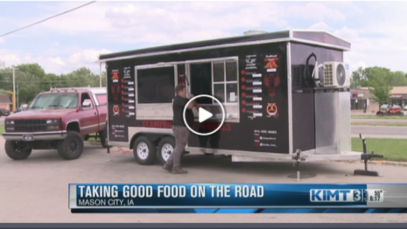 Mason City restaurant owner is taking good food on the road this summer