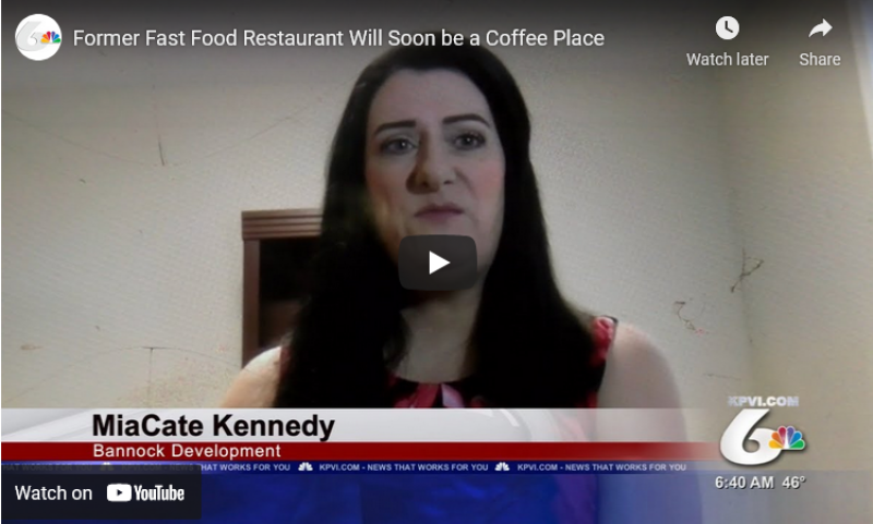 A Former Fast Food Restaurant Will Soon Be a Coffee Place