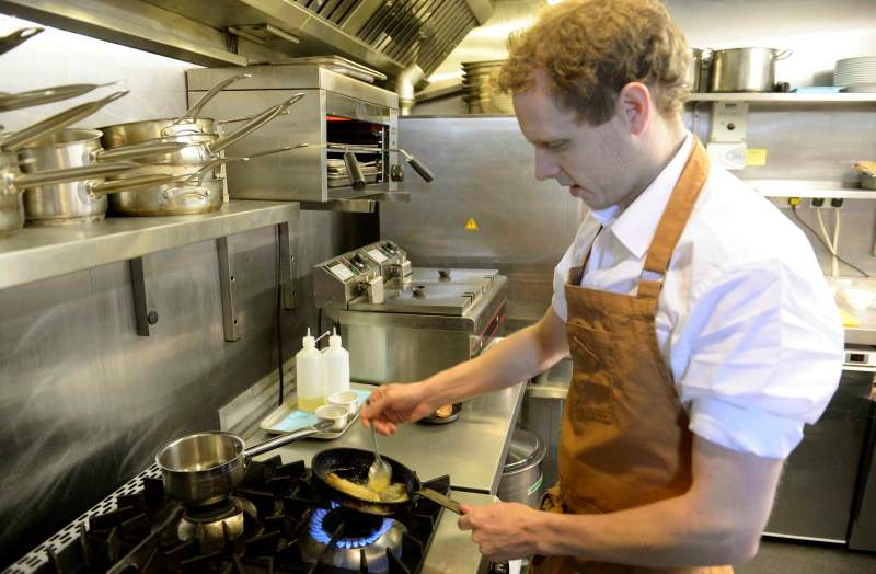 'Blood sweat and tears have gone into everything' chef opens new restaurant