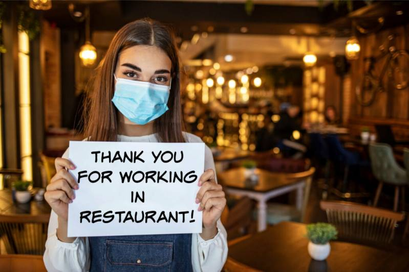 Thank You To the Restaurant Workers Who ARE Working Right Now