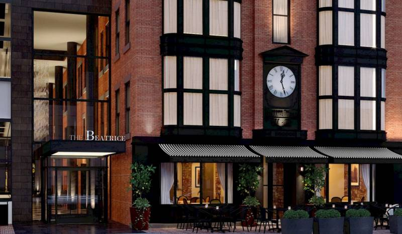 The Beatrice Hotel to Open this Summer with Upscale Italian Bellini Restaurant
