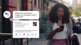 Duplex restaurant bookings will soon arrive on smart displays
