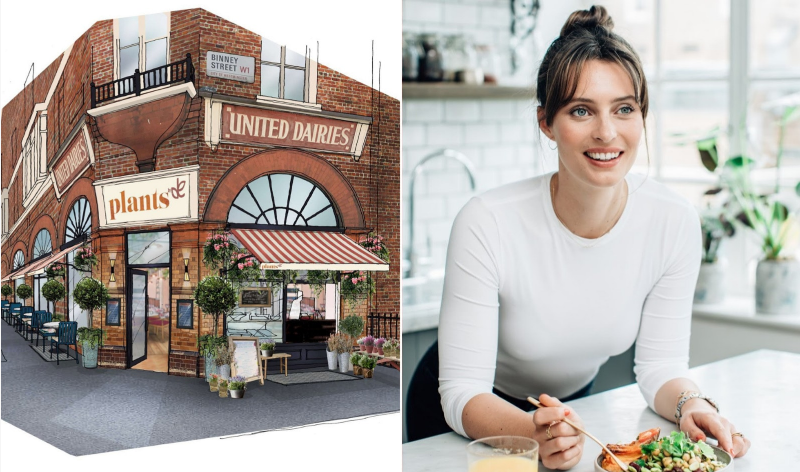 Food Blogger Deliciously Ella Launches Her First Vegan Restaurant