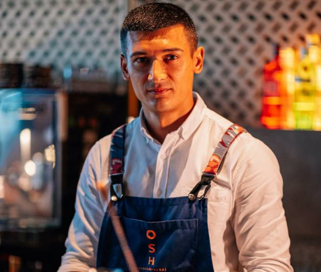 Uzbek restaurant OSH appoints new bar manager